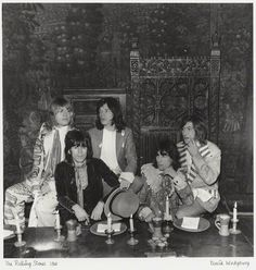 1968 Beggers Banquet launch party. The Stones held a rambunctious release party for the album at the elegant and historic Gore Hotel in London. A food fight with custard pies was the highlight of the event.