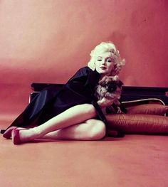 "Marilyn Monroe, ""Dog"" photographed by Milton Greene, in New York - 1955"