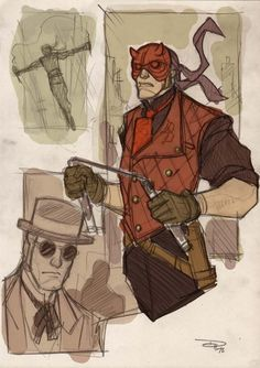 P:R Redesign: Denis Medri's Steampunk Daredevil, Black Cat, Electro and Mysterio! | Project : Rooftop