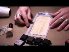 Tim Holtz - New Mini Distress Inks and Mini Ink Blending Tool - YouTube
