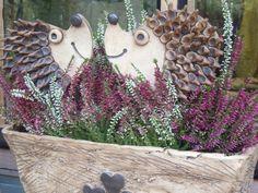 Ježek- zápich třeba do truhlíku Keramický zápich ježek, vhodný jako podzimní…