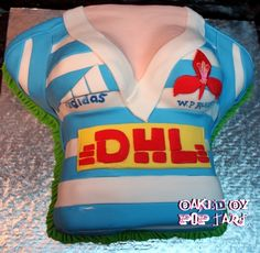 Western province rugby supporters cake www.facebook.com/poptartbakery Logo Design, Graphic Design, Rugby, Bikinis, Swimwear, Bra, Facebook, Logos, Cake