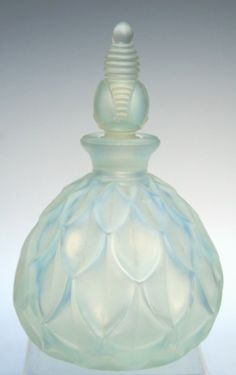 French Art Deco Sabino Glass Perfume Bottle