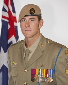 Corporal Benjamin Roberts-Smith, VC, MG, the most highly decorated serving member of the Australian Defence Force. Australian Defence Force, Australian Politics, British Royal Marines, British Royals, Medal Of Honor Winners, Ben Roberts, Benjamin Roberts, Special Air Service, Anzac Day