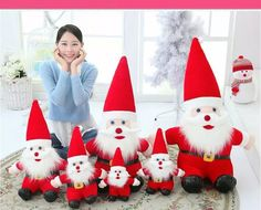 Fashion Cute Santa Claus Toy Doll Christmas Decoration Holiday Party Ornament Accessories-in Christmas from Home & Garden on Aliexpress.com | Alibaba Group
