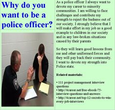 16 Best Police Clerk Interview Questions Images Military Police