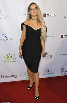 Joanna JoJo Levesque – 2019 Imagine Ball in West Hollywood Jojo Singer, Rango Vocal, Jojo Levesque, Singer Fashion, Peplum Dress, Bodycon Dress, Beautiful Celebrities, Beautiful Women, Beautiful Eyes
