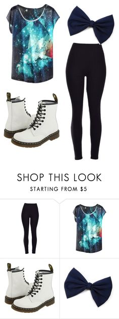 """""""Simple Outfit"""" by karolinajane on Polyvore featuring Dr. Martens and galexy"""