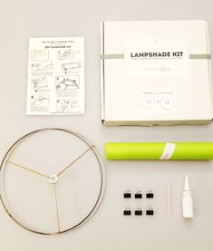 DIY Lampshade Kit by Kiri Masters — Maxwell's Daily Find 11.10.14