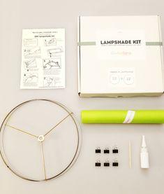 DIY Lampshade Kit by Kiri Masters — Maxwell's Daily Find 11.10.14