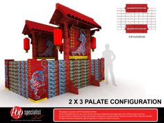 Point of Purchase. Tiger Chinese New Year Island Display. Designed by Ivan @ P.O.P Specialist Sdn. Bhd. www.pop-specialist.com