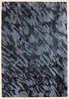 'VIII', John Walker, 1973 | Tate John Walker, Joan Mitchell, Black And White Abstract, How To Dry Basil, 2d, Contemporary Art, Herbs, Garden, Artwork