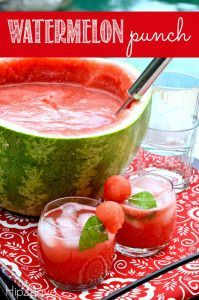 Take advantage of ripe watermelon this summer and make some delicious and refreshing Watermelon Punch! This easy-to-make drink is perfect for your next summer BBQ or gathering. In addition to being a very affordable beverage to serve (I found a large seedless watermelon for under $5 at Costco!), the punch just looks so pretty in […]