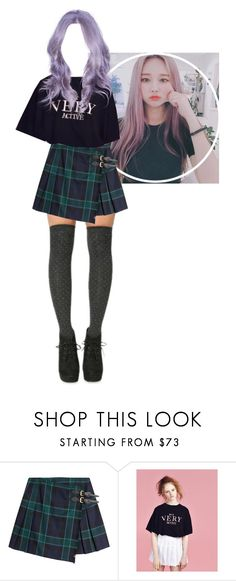 """""""— bomi audition"""" by bo-mi ❤ liked on Polyvore featuring Burberry, Lazy Oaf and rsauditions"""