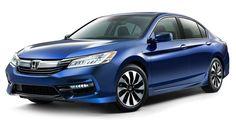 2017 Honda Accord Hybrid Is More Powerful, Has More Tech #Honda #Honda_Accord