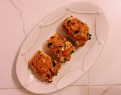 dill roasted red pepper feta skillet scones recipes dishmaps roasted ...