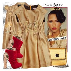 """Gold Cassie!"" by monicamonii ❤ liked on Polyvore featuring Lanvin, rag & bone, BCBGMAXAZRIA, Michael Antonio, Sebastian Professional, WGACA, Lulu Frost, Chanel, Dorothy Perkins and bandage dresses"