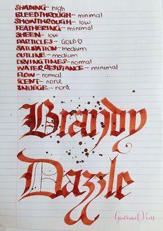Ink Shot Review Diamine Brandy Dazzle (6)