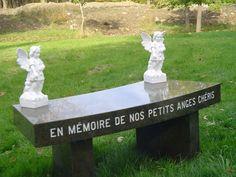 """""""Donnez au Suivant"""" : un banc au cimetière côte des neiges - Chantal Lacroix - Deuil périnatal"""