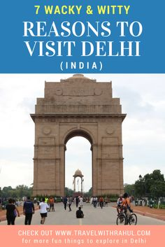 You must have read about Good Reasons to visit Delhi and negative reasons to not go to Delhi. But here are some 'Out of the Box' and Weird Reasons that will poke you to come to Delhi. Read them to know about the fun stuff and how your Indian Experience can get better. #delhigram #delhincr #indianexperience #delhiexperience #delhiblogger #delhi #newdelhi #incerdibleindia #thingstodo #india #visitindia