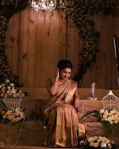 Christian Wedding Sarees, Christian Bride, Saree Wedding, Christian Weddings, Bridal Sarees, Kerala Saree Blouse, Saree Dress, Silk Sarees, Saree Collection