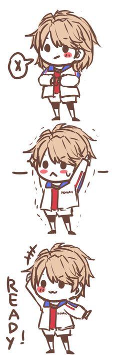 Yagami Riku ~ Prince of Stride: Alternative (Deporte, Carreras, Anime Invierno 2016) [pixiv by クラシン]