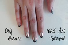 An Easy Nail Art Tutorial for Your Oscars Viewing Party!