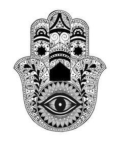 evil eye hand drawing - Google Search