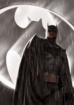 Batman in the rain ... directa al tablero de lluvia Sr. #BTMN ;-)
