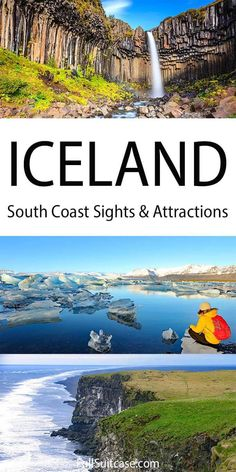 South Coast of Iceland: 29 Top Sights & Attractions (+Map) European Destination, European Travel, Amazing Destinations, Travel Destinations, North Iceland, Iceland Travel Tips, Go Hiking, Boat Tours, Great Places