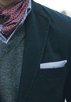 как завязать мужской платок - Поиск в Google