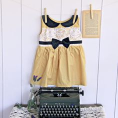 The Honey Bird Dress by Robintail on Etsy, $65.00