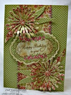 Happy Birthday by Leenda - Cards and Paper Crafts at Splitcoaststampers