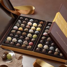Best gift to give your loved ones! this is what totall pleasure is Shop Chocolate Truffle Boxes - 80 pc Ultimate Signature Truffles Chocolate Bonbon, Chocolate Sweets, I Love Chocolate, Chocolate Shop, Belgian Chocolate, Chocolate Gifts, Chocolate Truffles, Homemade Chocolate, Chocolate Lovers
