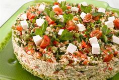 Sandwich Cake, Sandwiches, Cheesecakes, Cobb Salad, Food And Drink, Kitchen, Cook, Recipes, Bulgur