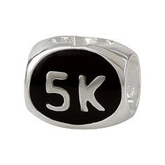 Nifty Things! Sterling Silver 5K Race Bead