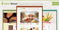 Shopping Bella - Restaurant & Bakery PSDtoday price drop and special promotion. Get The best buy
