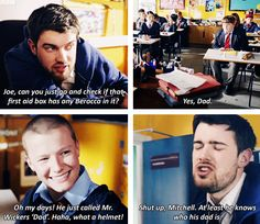 bad education--Why can't my school have teachers like Alfie and Fraser!? <<< WHY WOULD YOU WISH THAT UPON YOURSELF