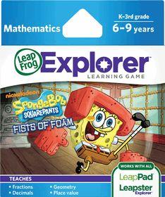 LEAP FROG SCHOOL<br / />LeapFrog LeapPad Game: SpongeBob SquarePants Fists of Foam 6 - 9 Years