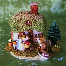 Wee Forest Folk M-311a  SPRING COTTAGE Retired 2005 - CONSIGNMENT