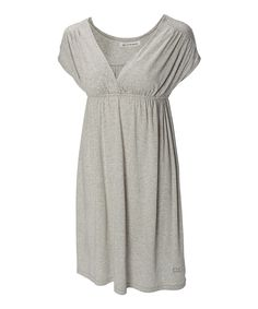 Look at this Cutter & Buck French Gray Shuffle Empire-Waist Dress - Women on #zulily today!