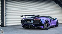 DMC Lamborghini Aventador Is A Raging Purple Haze