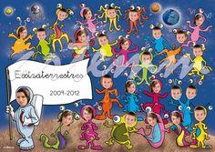 orlas infantiles, orlas divertidas Orla Infantil, Orlando, Collaborative Art Projects, Classroom Door, School Photos, Paper Gifts, Photo Book, Fun Activities, Ideas Para