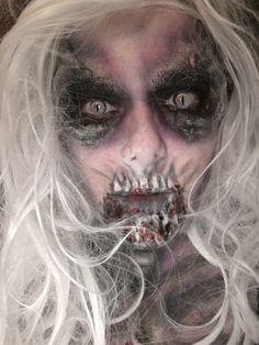 Banshee makeup Horror Makeup, Halloween Face Makeup, Scary Makeup