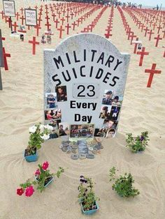 23 Veterans and active duty, commit Suicide Everyday, Brothers and Sisters if you are hurting please reach out to someone. PLEASE SHARE! Ptsd Awareness, Thing 1, Support Our Troops, In This World, Day, Ptsd Military, Military Life, Battle, Mental Problems