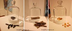 we could display perfume under glass