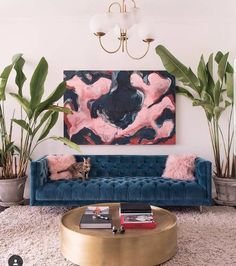8 Stunning interiors that prove velvet is the most popular fabric right now