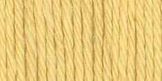 Lily® Sugar'n Cream® Yarn Solids Super Size Yellow