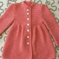 Crochet Case, Crochet Baby Dress Pattern, Crochet Rug Patterns, Granny Square Crochet Pattern, Crochet Baby Clothes Boy, Crochet Baby Booties, Girls Sweaters, Baby Sweaters, Vestidos Bebe Crochet