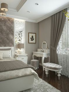 Bedroom Layout Design Awesome 60 Ideas For 2019 Feminine Bedroom, Modern Bedroom, Contemporary Bedroom, Minimalist Bedroom, Modern Minimalist, Blush Bedroom, Bedroom Rustic, Bedroom Layouts, Suites